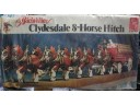 AMT Budweiser Clydesdale 8-Horse Hitch 1/25 NO.6716