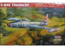 "HOBBY BOSS 美國F-84E""雷電噴氣""戰鬥轟炸機 NO.83207"