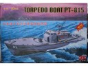 TRUMPETER 小號手 TORPEDO BOAT PT-815  電動馬達版 1/72 NO.02503