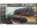 REVELL Dampflokomotiven BR 43 Tender 2'2 T30 & BR 43 Tender 2'2 T32 1/87 NO.02157