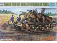 TRUMPETER 小號手 German 38(H) The Artillery Observation Vehicle 1/35 NO.00355