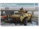 "TRUMPETER 小號手 美國M1117""衛士""裝甲防護車 1/35 NO.01541"