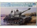 TRUMPETER 小號手 German Sd.Kfz. 165/1 Geschützwagen IV b 1/35 NO.00374