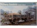 TRUMPETER 小號手 German Railway Gondola (lower sides) 1/35 NO.01518