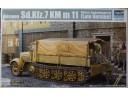 TRUMPETER 小號手 German Sd.Kfz. 7 KM m 11 Mittlere Zugkraftwagen 8t (Late Version) 1/35 NO.01507