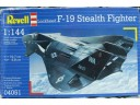 REVELL Lockheed F-19 Stealth Fighter 1/144 NO.04051