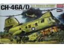 ACADEMY CH-46 A/D Vietnam 1/48 NO.12210