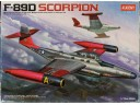 ACADEMY F-89D SCORPION 1/72 NO.12403