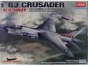 "ACADEMY F-8J Crusader ""US Navy"" Special Edition 1/72 NO.12412"