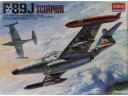 ACADEMY F-89J SCORPION 1/72 NO.1628