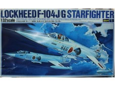 HASEGAWA 長谷川 Lockheed F-104J/G Starfighter 1/32 NO.S1/S001