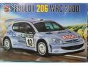 AIRFIX Peugeot 206 WRC 2000 1/24 NO.07404