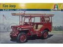 ITALERI Fire Jeep 1/24 NO.3722