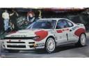 HASEGAWA 長谷川 Toyota Celica Turbo 4WD '92 Tour De Corse 無水貼 1/24 NO.CR9/25009