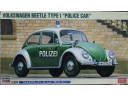 HASEGAWA 長谷川 Volkswagen Beetle Type 1 Police Car 1/24 NO.20251