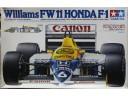 """田宮 TAMIYA """"Canon"""" Williams FW11 Honda F-1 1/20 NO.20019"""