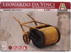ITALERI Leonardo da Vinci Mechanical Drum NO.3106