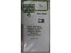 EVERGREEN SCALE MODELS V-GROOVE Spacing 1.0mm Thick 1.0mm 一包一片 15cmx30cm NO.4040