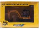 JCB 8060 MIDI EXCAVATOR 挖掘機/挖土機 1/32 合金工程車模型完成品 NO.42318