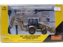 NORTHWEST CAT 420E CENTER PIVOT BACKHOE LOADER with work tools 挖掘裝載機 1/50 合金工程車模型完成品 NO.55143