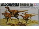 TAMIYA 田宮 VELOCIRAPTORS PACK OF SIX 恐龍模型 1/35 NO.60105