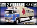 Aoshima 貨櫃車 比例 1/32 卡車 需拼裝上色 009871
