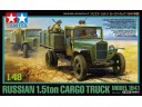 TAMIYA 比例 1/48 軍事系列 蘇聯 1.5噸 貨運 貨車 卡車(1941年型號) 組裝模型 需黏著+上色 32577