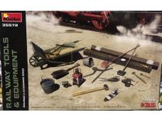 MiniArt  鐵路 工具組 1/35 35572 組裝模型