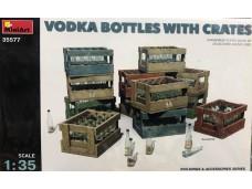 MiniArt  酒瓶 箱子 木箱 1/35 35577 組裝模型