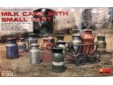 MiniArt  MILK CANS WITH SMALL CART 1/35 NO.35580