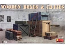MiniArt   箱子 木箱 1/35 35581 組裝模型
