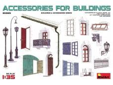 MiniArt 建築物配件 比例1/35 35585 組裝模型