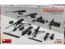 MiniArt   美軍 機槍 機槍組 1/35 37047 組裝模型
