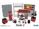 FUJIMI 1/24 GT26 Tools 2 車庫工具組 場景製作 富士美 113715