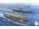 FUJIMI 1/3000 軍艦9 中途島作戰 南雲機動部隊 赤城 加賀 蒼龍 飛龍 榛名 霧島 驅逐艦 附 塗裝完成艦載機&海面展示台 富士美 401430