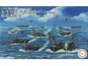 FUJIMI 1/3000 軍艦11 A號作戰 小澤艦隊 翔鶴 瑞鶴 付 塗裝完成艦載機 富士美 401461