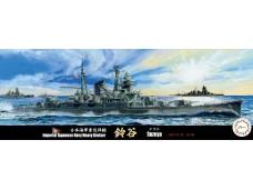 FUJIMI 1/700 特27 日本海軍重巡洋艦 鈴谷 1944 捷一號作戰 水線船 432489