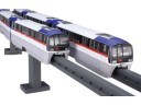 FUJIMI 1/150 東京單軌電車 2000型 六輛編成 塗裝完成品 富士美 910291