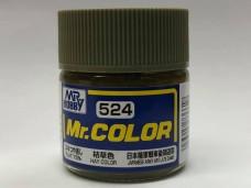 Gunze 油性 枯草色 HAY Color for 日本陸軍戰車後期迷彩 75%消光 硝基漆 10ml 模型專用漆 C524 郡是 Mr. COLOR