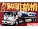 Aoshima 日本 貨櫃車 貨車 比例 1/32 卡車 需拼裝上色 012338
