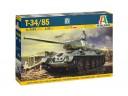 ITALERI  6545  比例1:35  T34/85 Zavod 183 Mod.1944