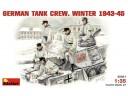 MiniArt GERMAN TANK CREW. WINTER 1943-45 1/35 NO.35021