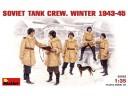 MiniArt SOVIET TANK CREW.   WINTER 1943-45 1/35 NO.35022
