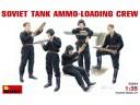 MiniArt SOVIET  TANK  AMMO-LOADING  CREW 1/35 NO.35034