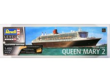 REVELL 1/400 05199 QUEEN MARY 2 PLATINUM EDITION 郵輪 組裝模型 需黏著+上色