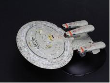 STAR TREK 星際迷航 企業號系列 ENTERPRISE NCC-1701-D 企業號 部分合金模型完成品 此系列共有六款  此為其中一款 NO.5