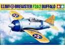 田宮 TAMIYA Brewster F2A-2 Buffalo U.S. Navy 1/48 NO.61031