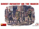 MiniArt SOVIET INFANTRY ON THE MARCH NO.35002