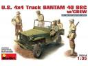 MiniArt U.S. 4X4 TRUCK BANTAM 40 BRC NO.35014