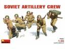 MiniArt SOVIET  ARTILLERY  CREW NO.35031
